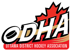 Logo for ODHA - Ottawa District Hockey Association