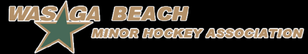 Logo for Wasaga Beach Minor Hockey Association